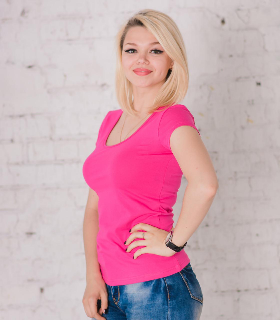 Bono Футболка жіноча яскраво-рожева 950181