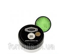 3D гель-пластилин Koto №20 (5 гр) салатовый