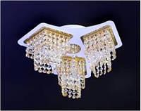 Хрустальные люстры не классические FG (золото) P5-S1289/3/FG+WT