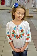 Вышиванка для девочки Веночек 116