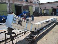 Транспортер (конвейер) скребковый  L - образный 40-70 м3/час автоматизированной подачи топлива