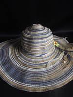 Полосатая шляпа на лето, фото 1