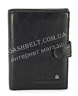 Прочное вместительное портмоне кардхолдер с отделениями для документов  FUERDANNI art. 4378 черный