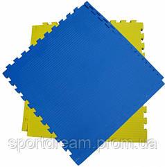Татами Ласточкин хвост 26 мм (желто-синий)