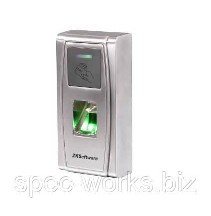Считыватель биометрический с контроллером в металлическом корпусе ZKTeco MA300