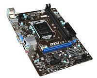 Материнская плата MSI H81M-E33,s1150,2xDDR3, VGA-HDMI mATX