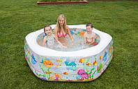 """Детский надувной бассейн """"Океанский риф"""" Intex 56493, фото 1"""