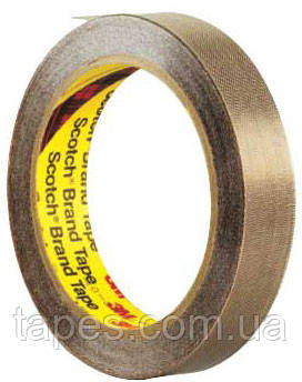 Тефлоновая лента 3М 5453 для защиты от термического воздействия (19мм х 33м х 0,22мм)