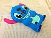 Резиновый 3D чехол для LG Leon Y50 H324 Стич