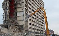 Демонтаж высотных зданий