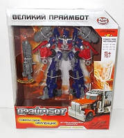 Робот-трансформер Play Smart Оптимус прайм 8107 Праймбот YNA /5-7