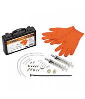 Набор для прокачки тормозов Ice Toolz с наконечниками для всех типов гидравлических систем