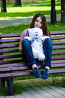 Мишка Тедди 60 см, плюшевые медведи.мягкая игрушка белый