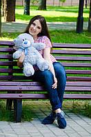 Мишка Тедди 60 см, плюшевые медведи.мягкая игрушка серый