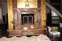 Облицовка каминов мрамором Одесса и область