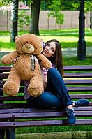 Мишка Тедди 80 см, плюшевые медведи. мягкая игрушка мишка. мягкие игрушки украина коричневый