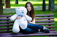 Мишка Тедди 80 см, плюшевые медведи. мягкая игрушка мишка. мягкие игрушки украина Мех искусственный, My Best Friend, Украина, белый