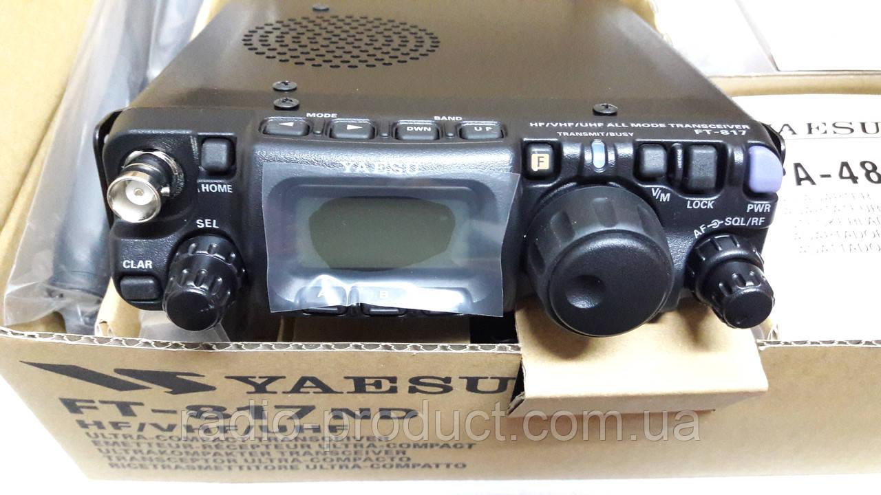 Yaesu FT-817ND, трансивер, радиостанция