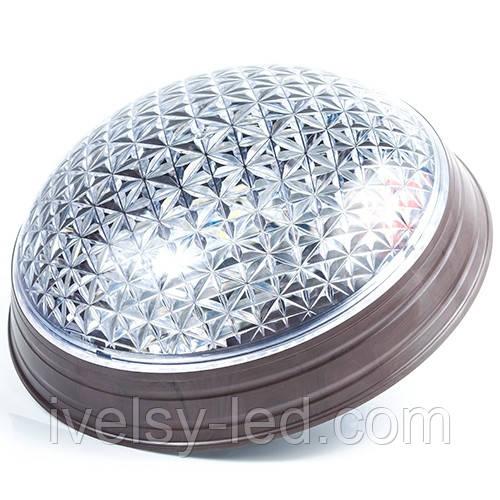 Cветодиодный ЖКХ LED светильник СПП-5Вт-6000 «Астра» Ø 230мм