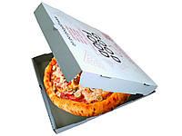 Коробки для пиццы с печатью логотипа, печать на коробках под пиццу