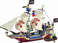 Детский конструктор Brick 311 Пиратский корабль 487 деталей YNA