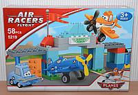 Конструктор JDLT Planes Air Racers Лётная школа Шкипера  5219 KHT/0-7