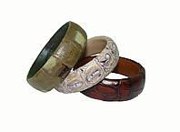 Кожаные браслеты на руку, фото 1