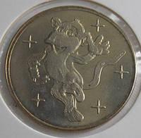 Монетовидный жетон Украины 2004 г. Год обезьяны