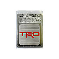 Металлическая крышка сцепки Toyota TRD Metal Hitch Cover