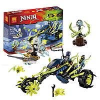 """КонструкторLele Ninja (Ниндзя) 79118 """"Засада на мотоцикле"""" 314 деталей, аналог Лего Ниндзяго 70730 YNA /00-31"""