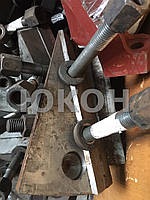 Накладки на рубильные машины МР2-20, МРНП-10,-30, МРГ-10,-30