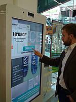 Размещение интерактивной рекламы в торговых центрах и супермаркетах Украины