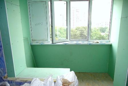 Демонтаж балконной тумбы