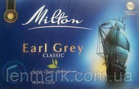 Чай Milton  «Earl Grey» CLASSIC  80 пакетиков 120 г