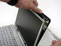 Восстановление корпуса /элемента крышки матрицы (сращивание деталей, наращивание части корпуса ноутбука