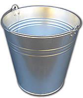 Ведро 12 литров оцинкованное одношовное
