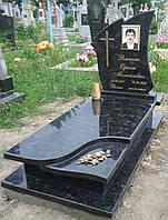 Пам'ятник надгробний гранітний з Лабладориту 9019003