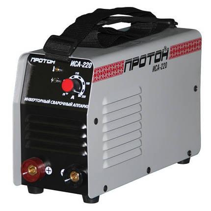 Инверторная сварка ПРОТОН ИСА-220 (5.1 кВт, 200 А), фото 2