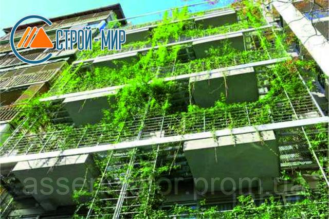 Гостиница, на которой растет больше 800 видов растений