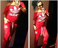 """Спортивный костюм женский Adidas Original с вырезом """"лодочка"""" (4 цвета), фото 1"""