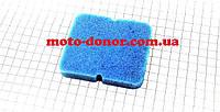Фильтр-элемент воздушный  с пропиткой (поролон) для мопеда DELTA