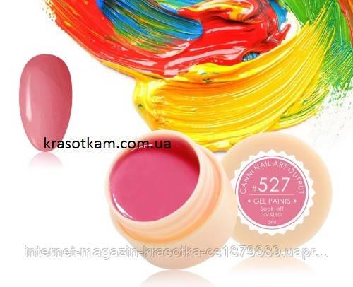 Гель-краска Canni 527 пастельная коралловая