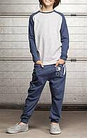 Подростковый спортивный костюм для мальчика (двунитка), фото 1