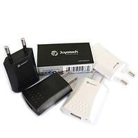 Универсальный адаптер питания Joyetech для USB плоский (500 мА)- черный