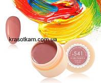 Гель-краска Canni 541 темная розово-бежевая