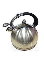 Чайник 3 л из нержавеющей стали со свистком Lessner  49510