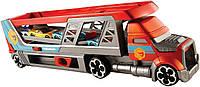 Хот Вилс Автовоз с пускателем стреляющий машинами Hot Wheels City Blastin' Rig