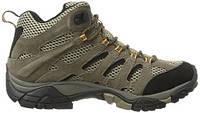 Ботинки Merrell Moab mid gore-tex трекинговые мужские