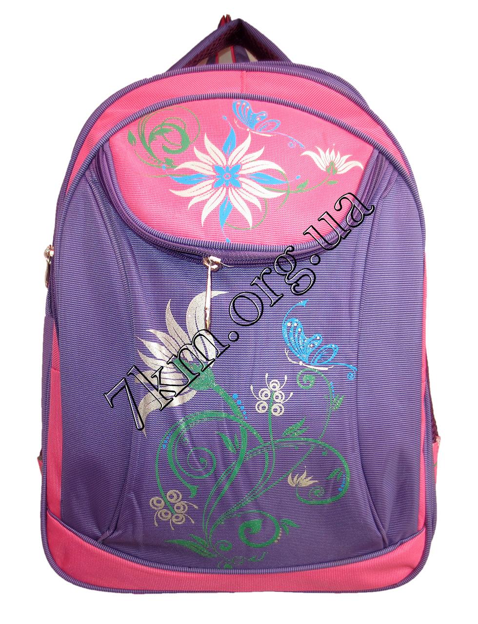 """Школьный рюкзак для девочек """"Цветок"""" Вьетнам Оптом."""