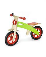 Детский беговел Viga Toys, деревянный беговел,  мотоцикл-беговел